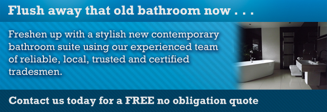 Bathrooms from Wightman Builders, your Ottery St Mary based builder working in Devon and in and around the Exeter area.